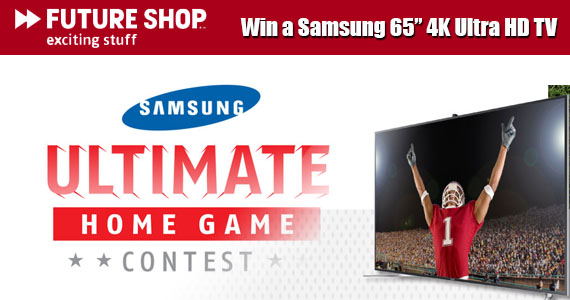 "Win a Samsung 65"" 4K Ultra HD TV"