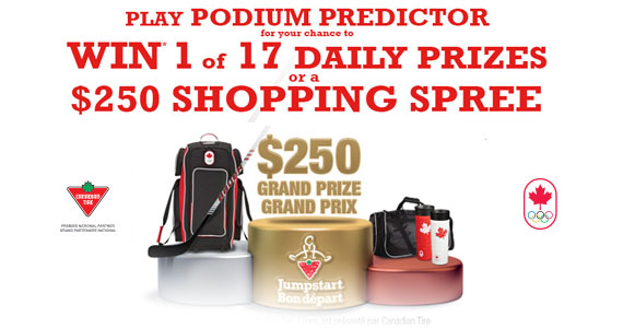 Win 1 of 17 Daily Prizes