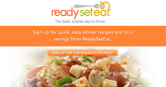Sign up for ReadySetEat and get Great Offers