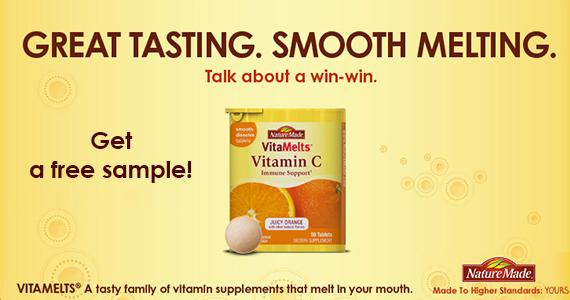 Get a Free Sample of NatureMade VitaMelts