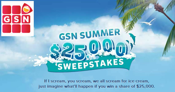 Win Up To $25,000 This Summer from GSN