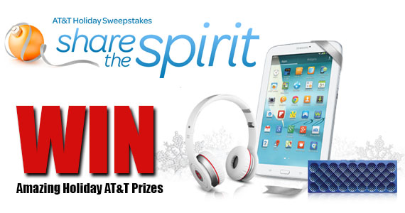 Win Amazing Holiday AT&T Prizes