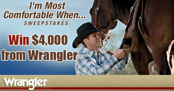Win $4,000 from Wrangler