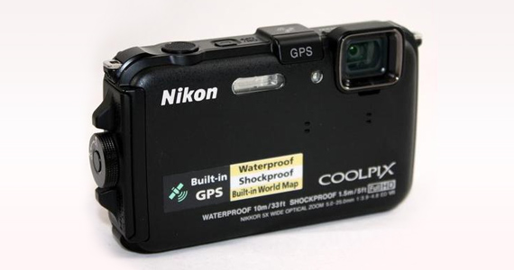 Mar 8- Win a Nikon Coolpix Waterproof Digital Camera