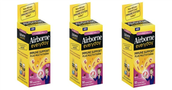 Free Airborne Everyday Chewable Tablets