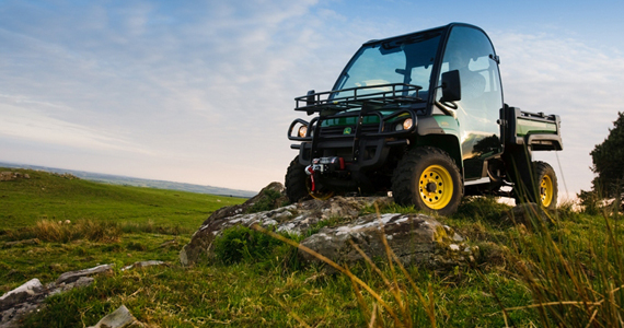 Win A John Deere Gator XUV 550 S4 Crossover Utility Vehicle