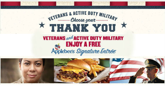 Free Meal At Applebee's