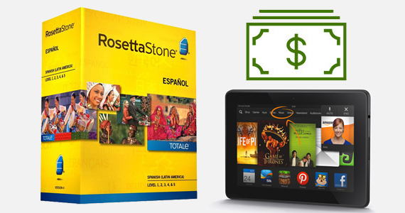 Win $2500 & A Kindle With Rosetta Stone