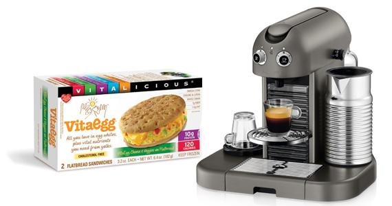 Win A Nespresso Coffee Machine & More