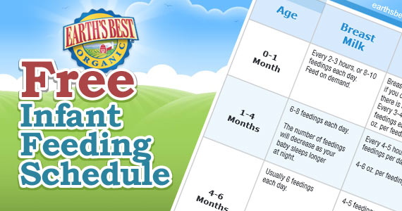 Free Infant Feeding Schedule