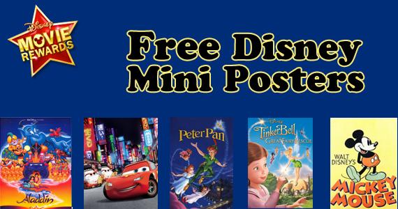 Free Disney Mini Posters