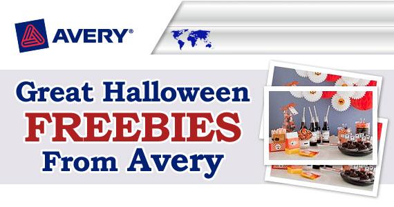 Halloween Freebies From Avery