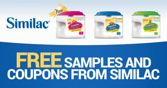 Free Samples and Coupons From Similac