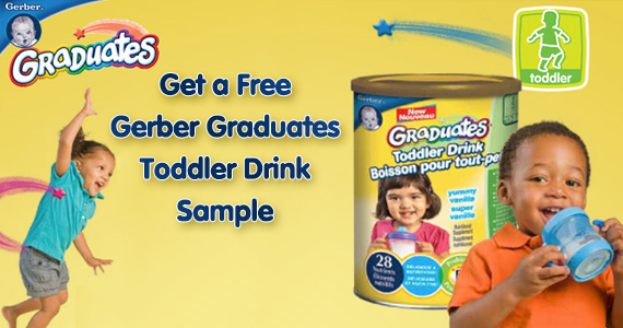Get a Free Gerber Graduates Toddler Drink Sample