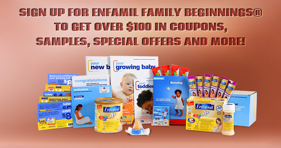 Join Enfamil and Get $30 in Coupon, Samples and More