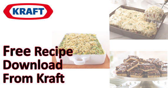 Free Recipe Download From Kraft