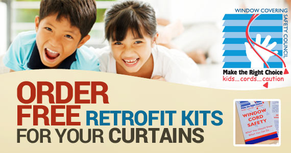 Order Free Retrofit Kits for Your Curtains