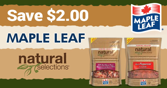 Save $2 on Maple Leaf Natural Selections