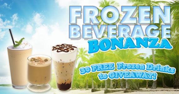 Win 1 of 30 Frozen Beverages