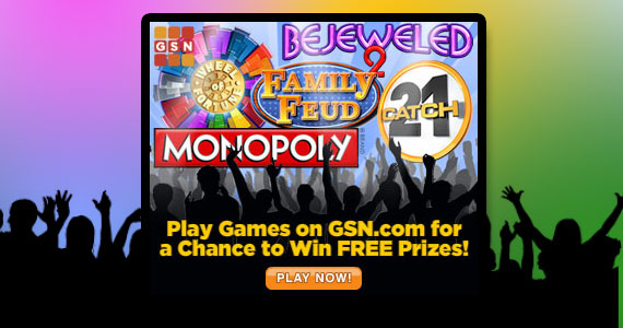 Play Free Games for Cash Prizes on GSN