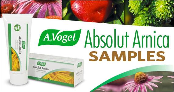A. Vogel Absolüt Arnica Samples