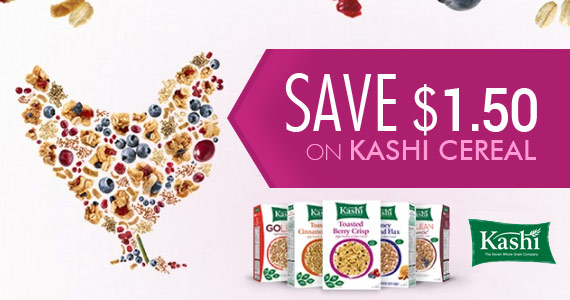 Save $1.50 on Kashi Cereal