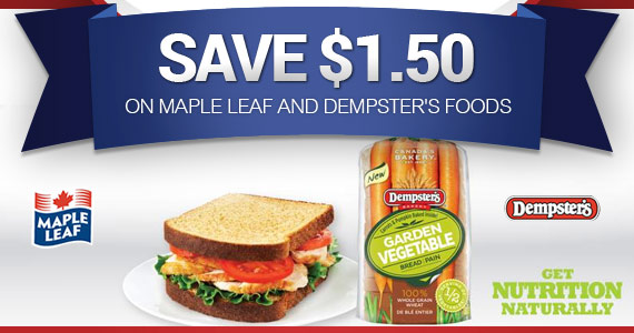 Save $1.50 on Maple Leaf and Dempster's Foods