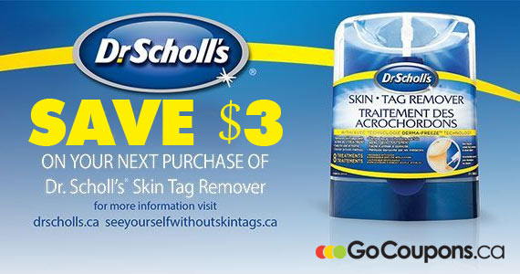 Save $3 on Dr. Scholl's Skin Tag Remover