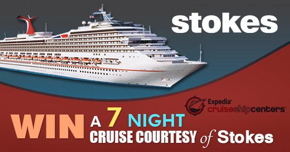 Win a 7 Night Caribbean Cruise Courtesy of Stokes