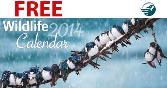 Free 2014 Canadian Wildlife Federation Calendar