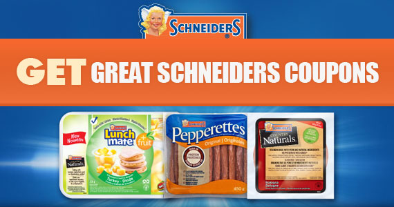 Get Great Schneiders Coupons