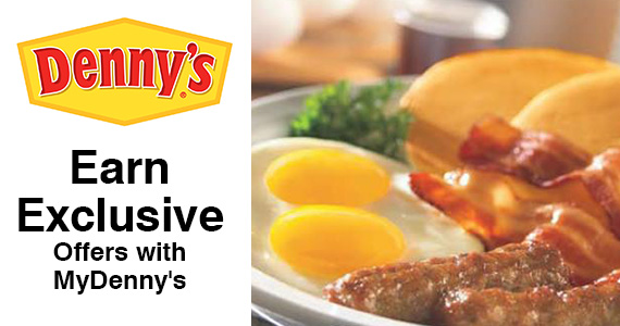 Earn Exclusive Offers with MyDenny's