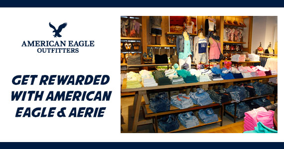 Get Rewarded with American Eagle & Aerie