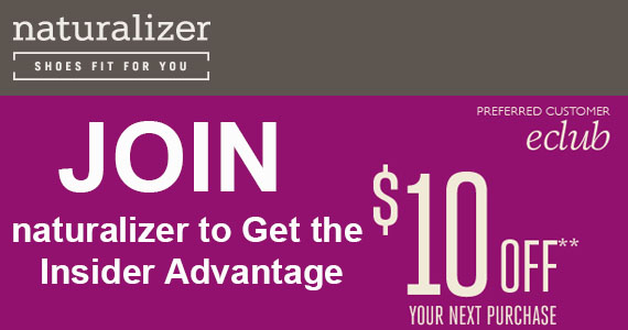 Join Naturalizer To Get The Insider Advantage