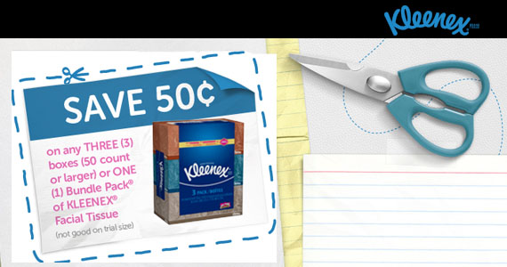 Save on Kleenex