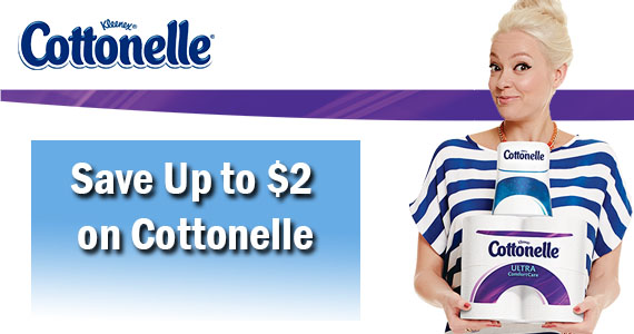 Save Up to $2 on Cottonelle