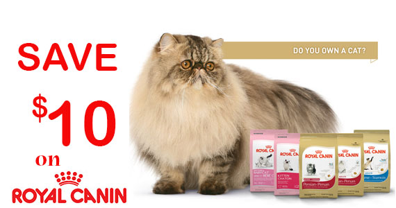 Save $10 on Royal Canin Cat Food