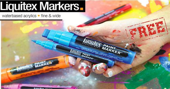 Free Sample Liquitex Artist Materials