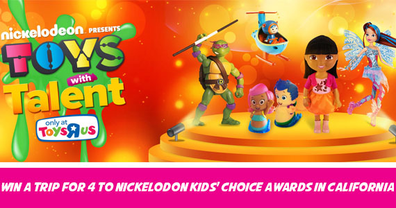 Win a Trip to Nickelodon Kids' Choice Awards