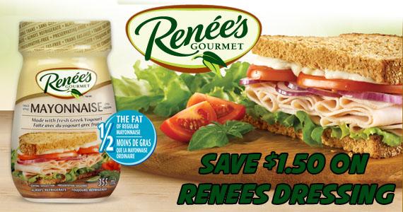 Save $1.50 on Renee's Dressing