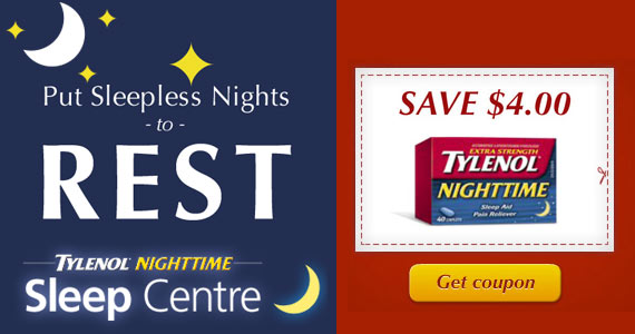 Save $4 On Tylenol Nighttime