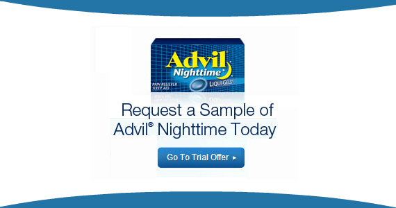 Request a Sample of Advil Nighttime