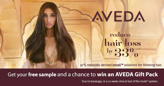 Get A Free Sample Of AVEDA