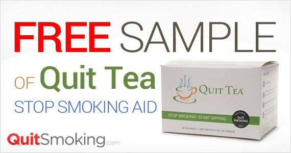 Free Sample of Quit Tea