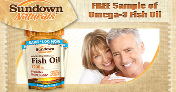 Free Sundown Naturals Fish Oil Sample