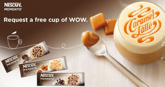 FREE Sample of New NESCAFE MEMENTO