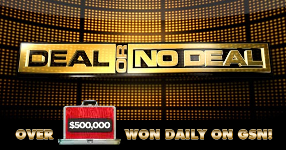 Win Cash & Prizes with Deal or No Deal