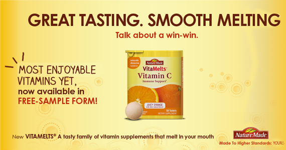 Nature Made VitaMelts Free Sample