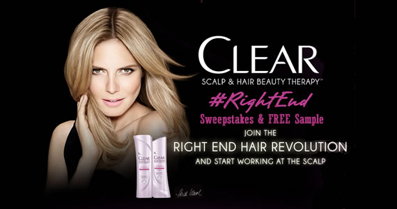 Clear Scalp & Hair Beauty Therapy Sweepstakes