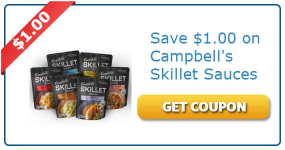 $1.00 off Campbell's Skillet Sauces